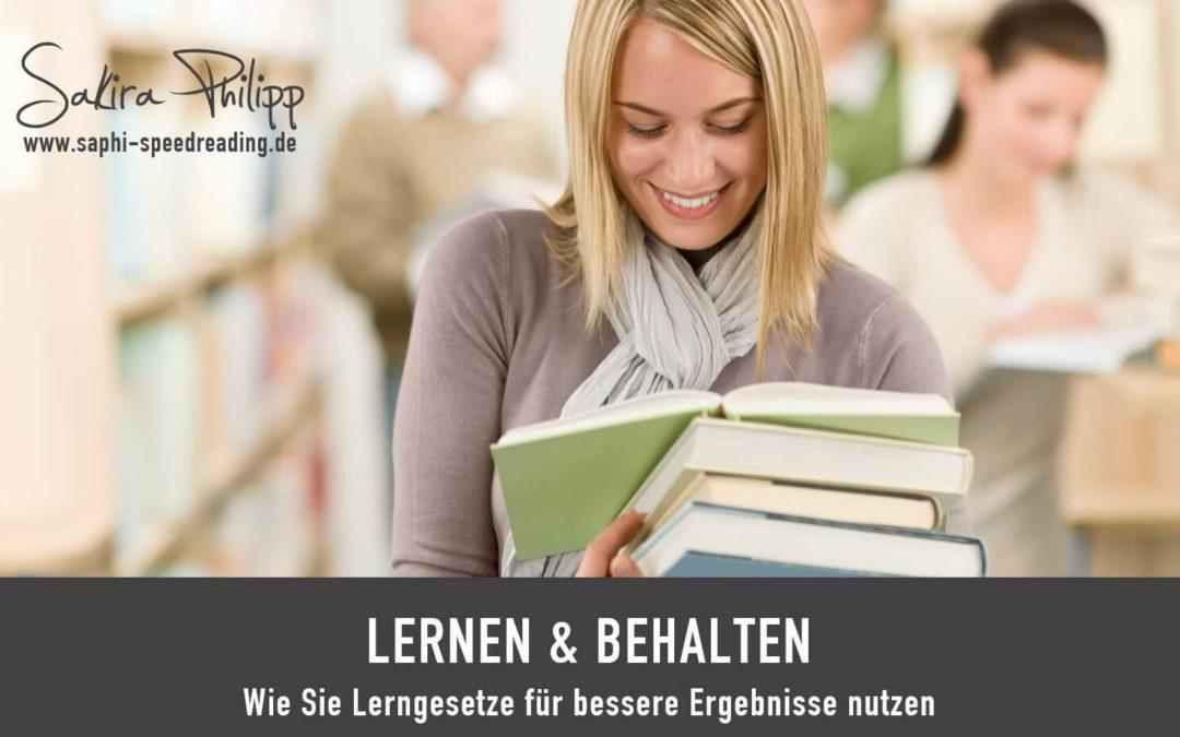 LERNEN & BEHALTEN