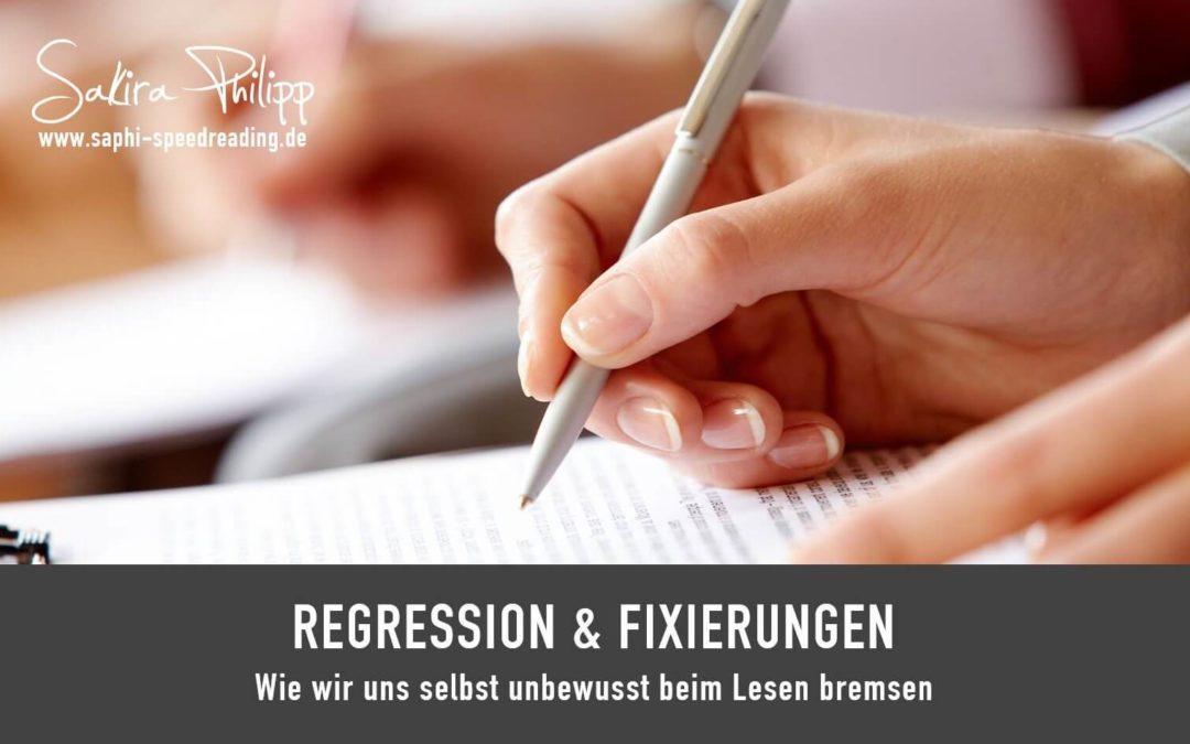 Regression // Blog SpeedReading Sakira Philipp