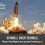 Schnell oder schnell // Blog SpeedReading Sakira Philipp